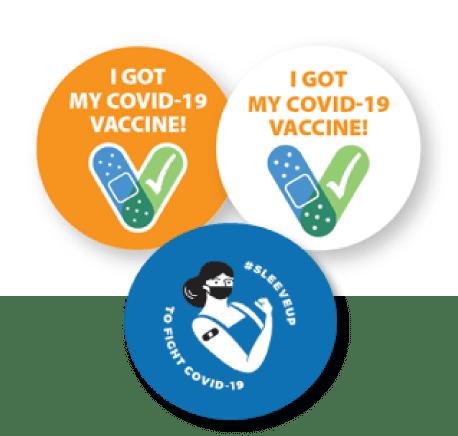 I Got My Covid Vaccine Icon
